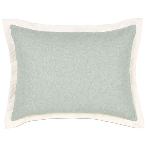 Picture of Myrtle Solid Spa Bed Pillows (Ivory Flange)