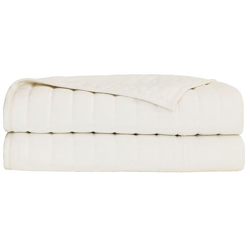 Picture of Myrtle Ivory Quilted Coverlet